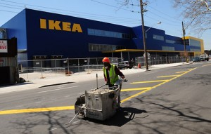 IKEA, Red Hook Brooklyn. Image Courtesy: The Brooklyn Papers